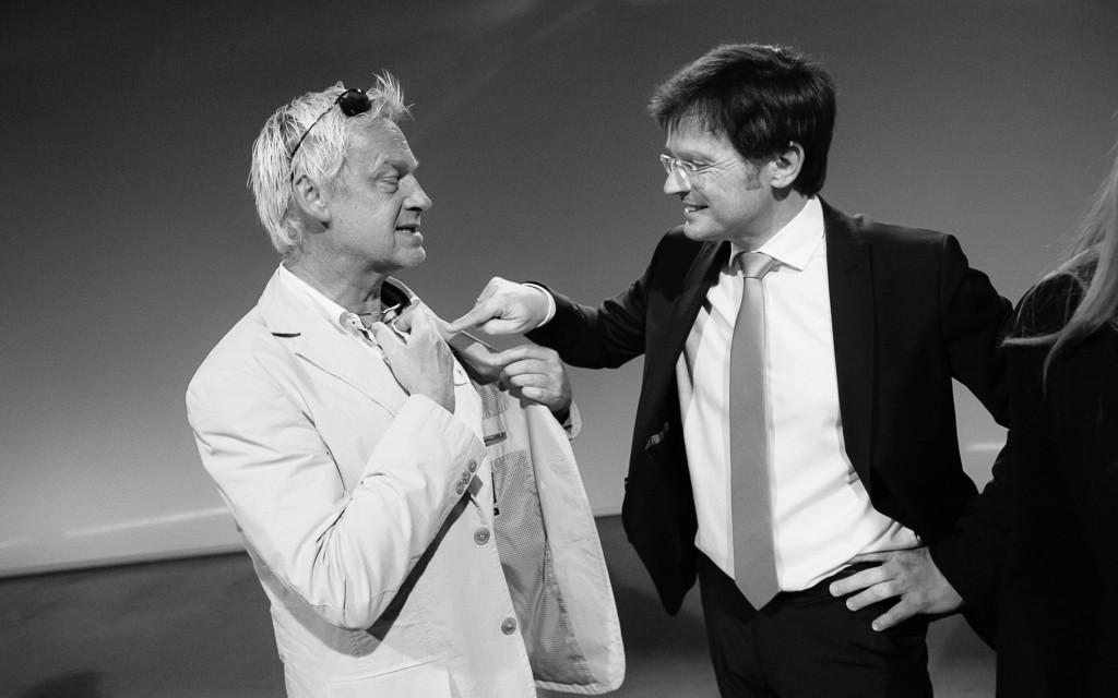Ernst Hasiba (DoP) und Franz Neger  (Regie)   © ORF/Marija Kanižaj