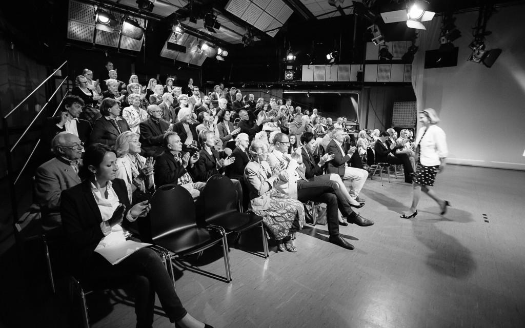 Im Publikumsstudio des ORF Steiermark  © ORF/Marija Kanižaj