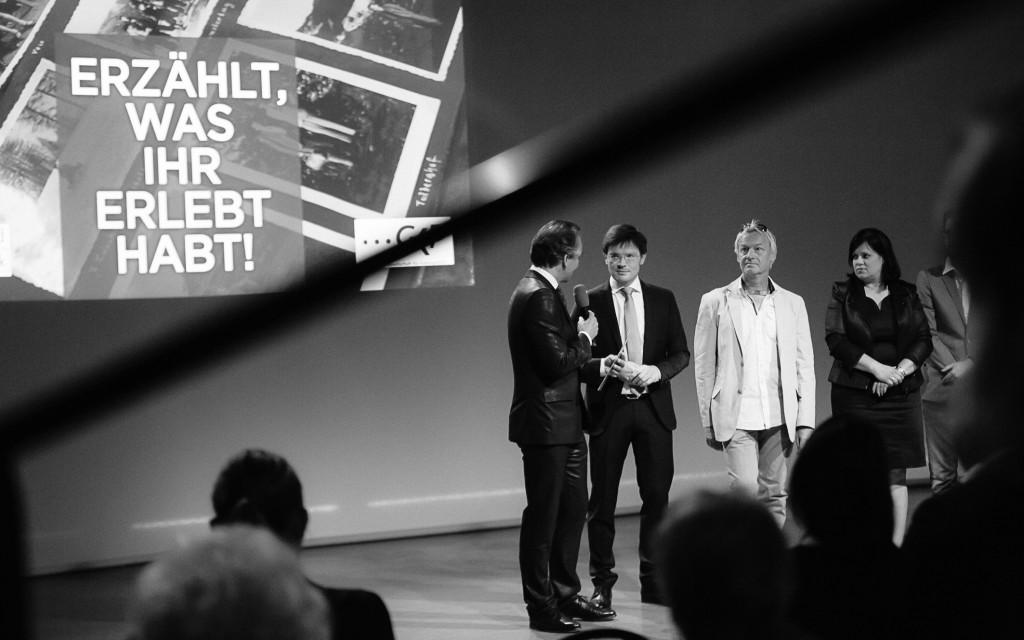 Gernot Rath interviewt Franz Neger  © ORF/Marija Kanižaj